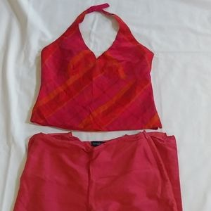 Ann Taylor set ankle pants and top